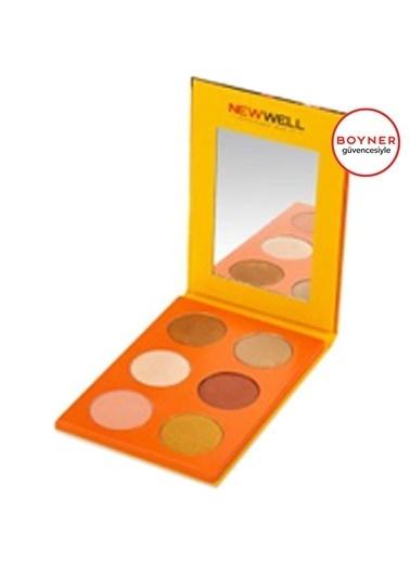 New Well New Well Autumn Eyeshadow (Turuncu) 6'lı Göz Farı Oranj